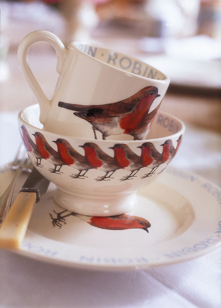 Robin.  Emma Bridgewater, UK.
