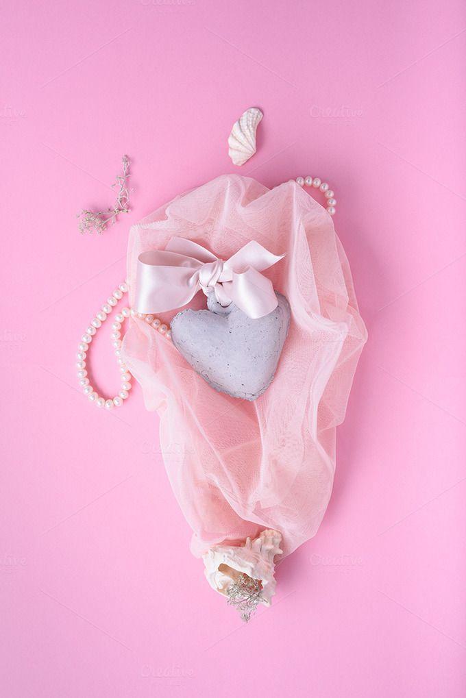 Romantic feminine still life by Iuliia Leonova on @creativemarket