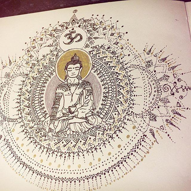 #tattoo #ink #marionbeaupere #bop #kalinga #drawing #art #bouddha #artwork #graphisme #design