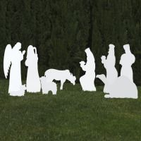 silhouette-outdoor-nativity-set-white-8-piece-add-on-scene
