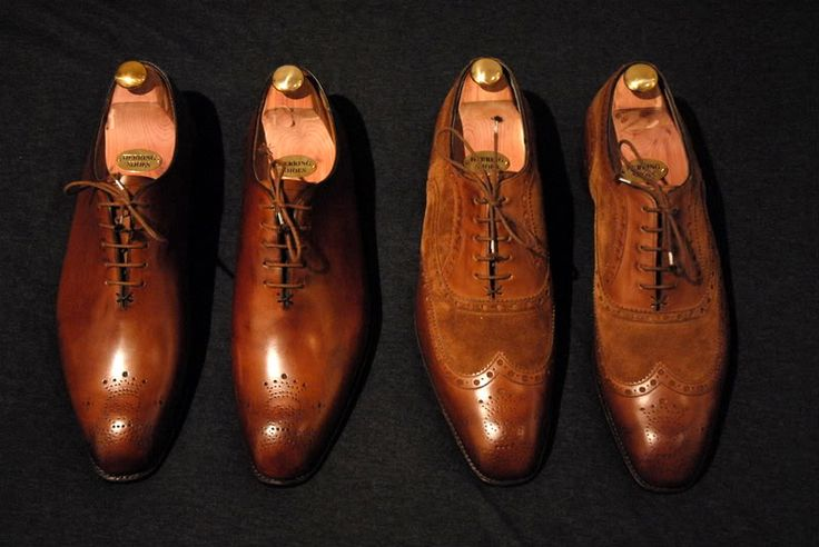 FS: Barker Black and Crockett & Jones Shoes