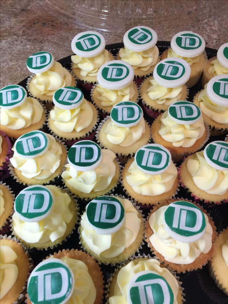 TD cupcakes-corporate event