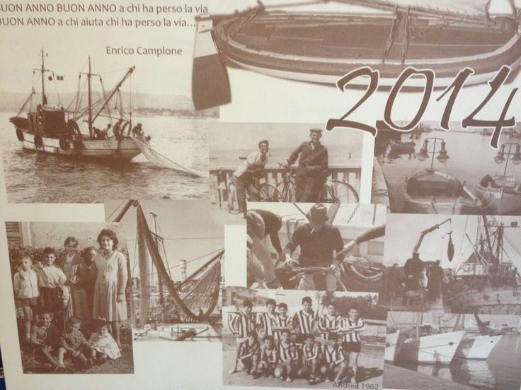 Le memorie del Borgo Marino pescarese nel nuovo calendario dei pescatori | L'Abruzzo è servito | Quotidiano di ricette e notizie d'Abruzzo
