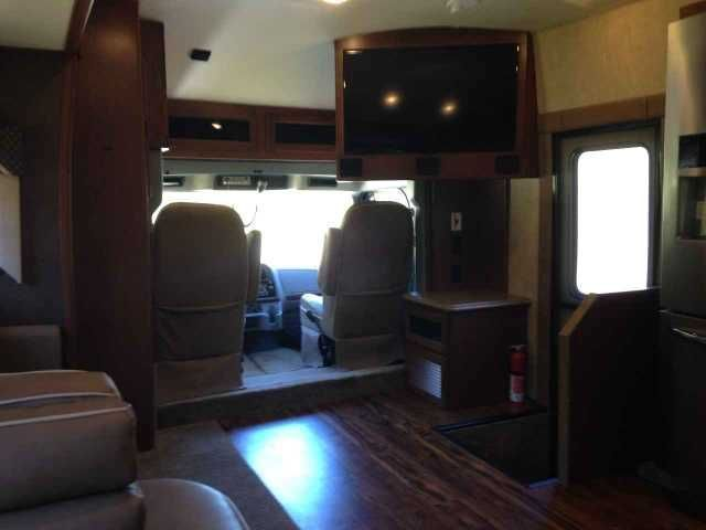 2015 Used Dynamax Corp Dx3 Class C in New Jersey NJ.Recreational Vehicle, rv, 2015 Dynamax Corp Dx3 , Model 36FKS: Excellent/brand new condition; custom dove-tailed cabinet draws installed with heavy duty slides and new heavy duty pantry installed by cabinet maker; cherry cabinets; RV king bed; stackable washer/dryer; residential refrigerator; Bilstein shocks; 6 speed Allison 3200 TRV trans; full undercoating; recessed 3-burner gas stove never used; 8000 KW ONAN diesel generator; locking