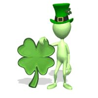 St. Patrick's day symbol Animated Clipart