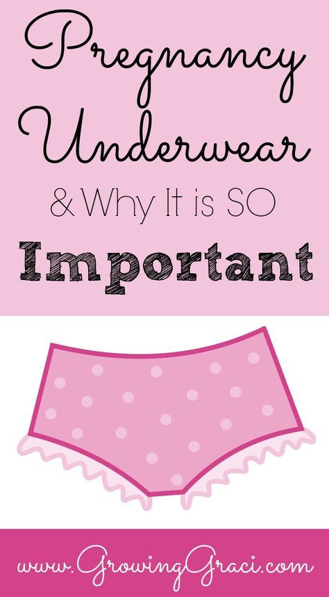 Pregnancy Underwear & Why It is SO Important