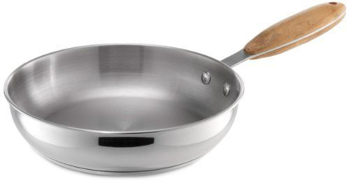 Heuck Zeroca 8-Inch Select Carbon Neutral Cookware Saute Pan by Heuck. $17.82. Certified as being carbon neutral in regards to the net carbon footprint created during manufacturing and transportation to the retail store. Limited lifetime warranty. 8 inch sauté pan. Manufactured out of recycled stainless steel. Handles manufactured out of farm-managed sustainable bamboo. This is the world's first independently certified line of sustainable cookware and kitchen tools--a qu...