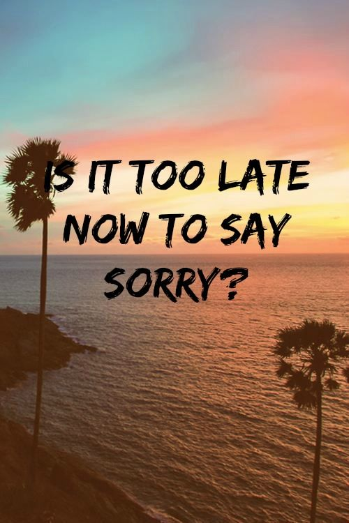 Sorry Justin Bieber wallpaper phone song lyric