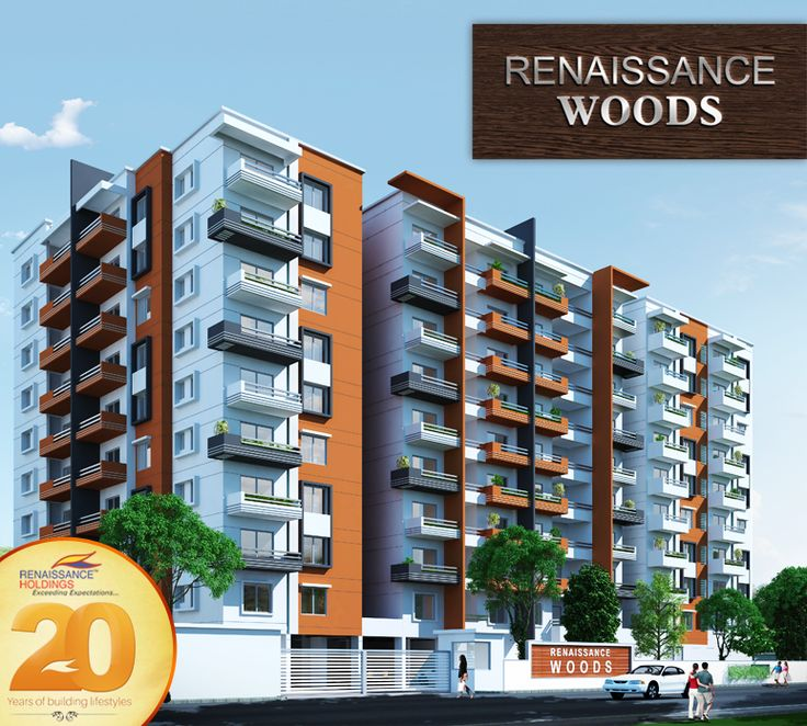 With 88 3BHK apartments ranging from 1,415 sqft to 1,740 sqft, Renaissance Woods, Jalahalli brings you closer to nature. #RenaissanceWoods