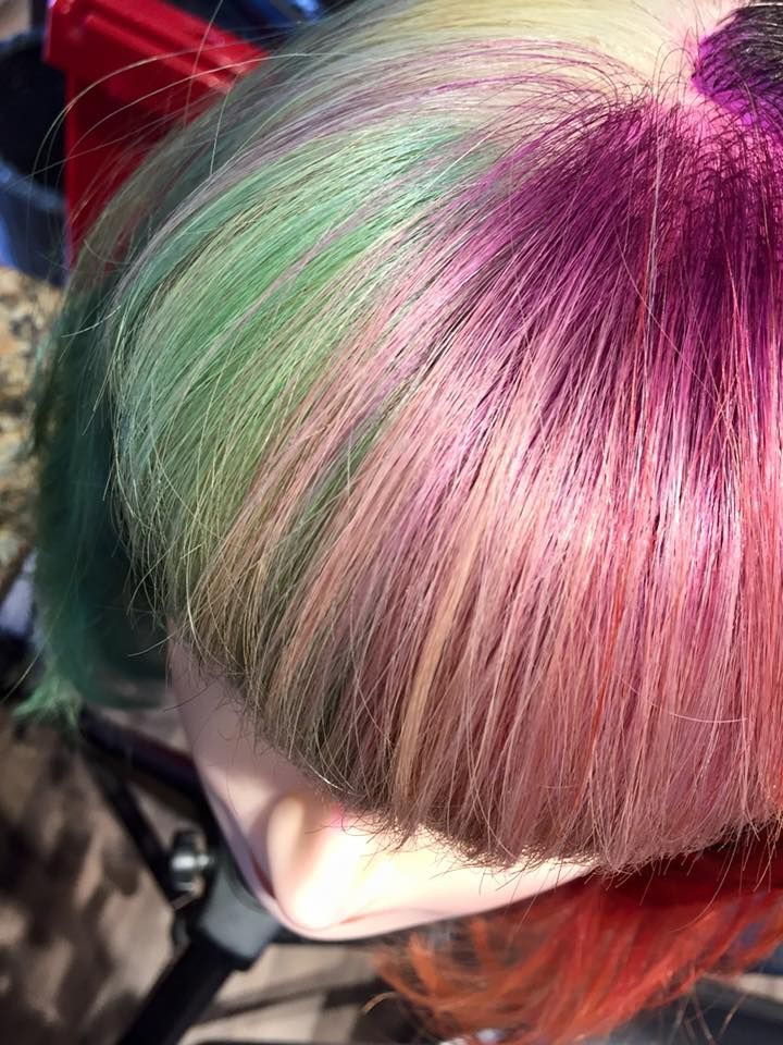 Beautiful color done by Brianne