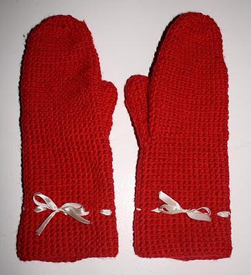 #Crochet #Mittens