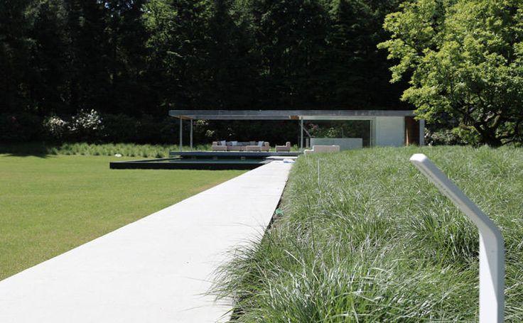 Villatuin Noord Holland : Minimalistische tuinen van Andrew van Egmond (ontwerp van tuin en landschap)