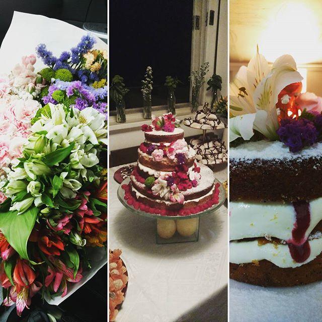Ilana and Michael 🎂 ⚭ #lemoncurd #lemoncake #siciliano #poppyseed #papoula #raspberry #framboesa #wedding #weddingcake #casamento #bolodecasamento #bolodelimao #limaosiciliano #bolopelado #nakedcake #grainesdepavot #pavot