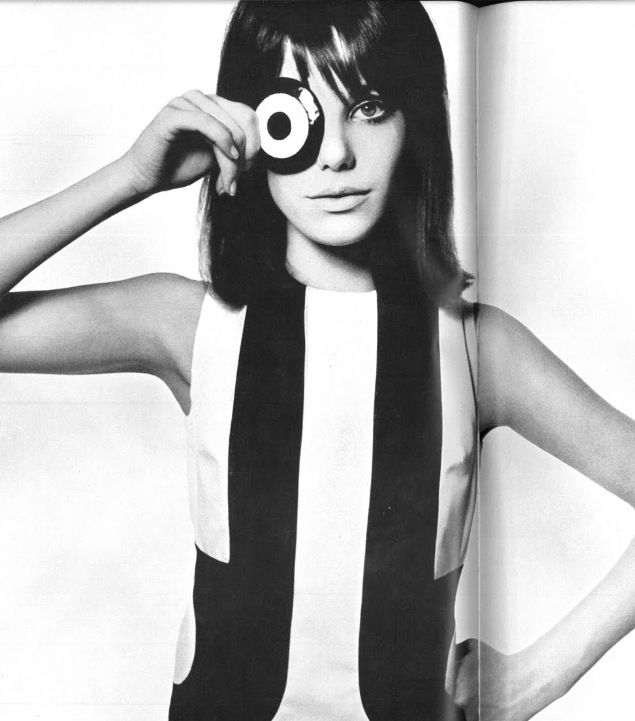 Jane Birkin 1960's mod fashion