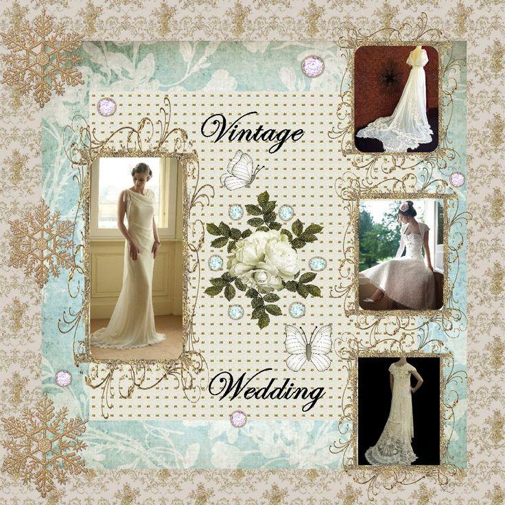 Wedding Scrapbook Layouts Cyann's Home Page >> Cyann