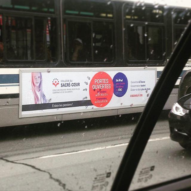 #thinkcake Autobus wrapping #cscoeur