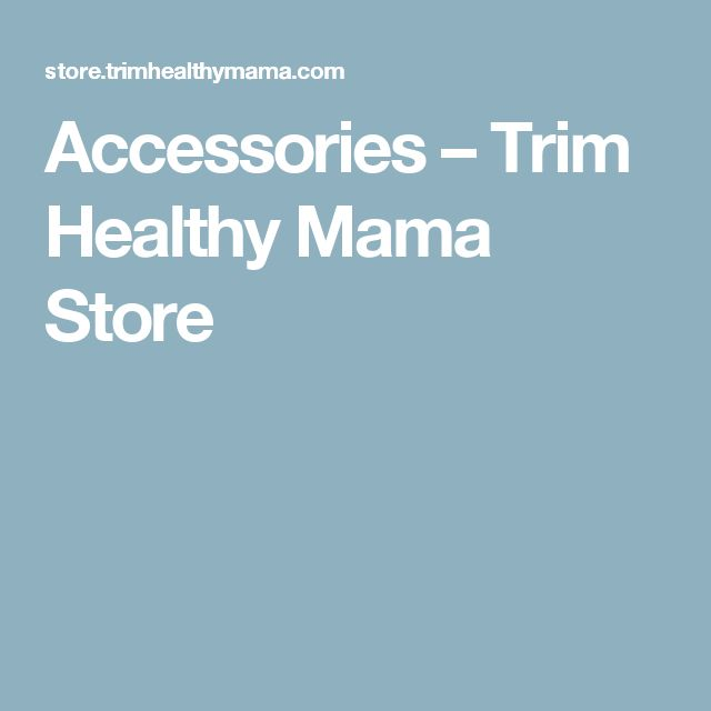 Accessories – Trim Healthy Mama Store