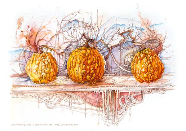 Watercolor by Irina Vinnik