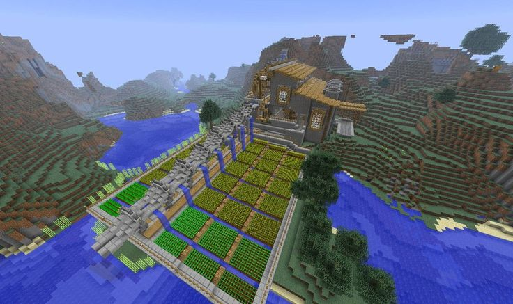 I like this guy's Minecraft tutorials.  Here's one on building functional aqueducts.