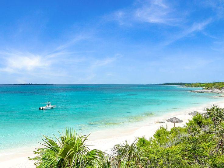 Remote Beachfront Villa Escape on Beautiful... Rose Island, Bahamas.