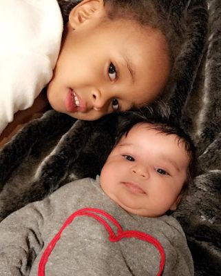 Beautiful photo of Blac Chynas kids King and Dream
