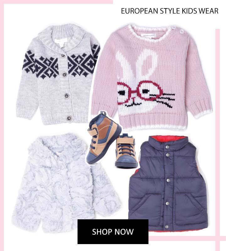 For the upcoming cold comfy days, all your little one needs is a cosy wardrobe by KAPKIDS. #Kapkids #DressLikeStars