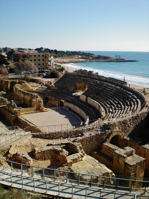 Amphitheater in Tarragona - Catalonia