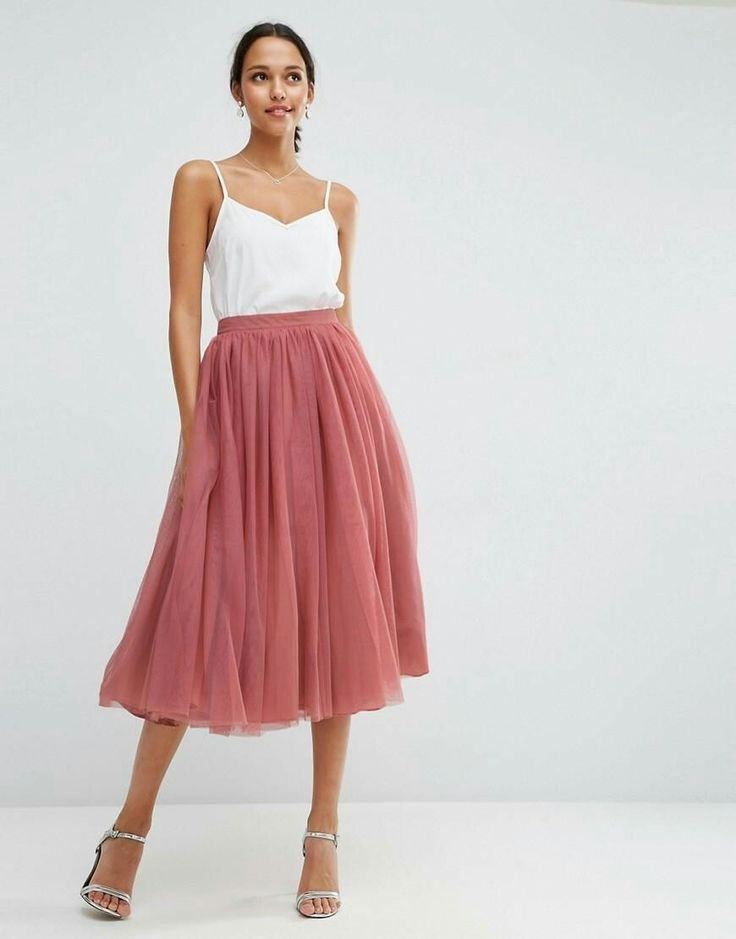 Tulle Prom Skirt with Multi Layers from ASOS