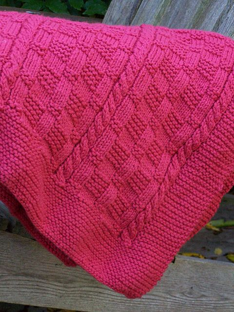 Ravelry: Making Tracks Blanket pattern by Megan Delorme