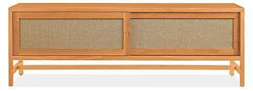 Berkeley Media Cabinets - Modern Media Storage - Modern Living Room Furniture - Room & Board