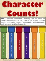 Character Counts Character Education Activity