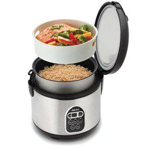 aroma rice cooker, I just bought one of these today and I love the quality of these cookers, I think these are great for anyone moving into an apartment  or just wants the perfect rice