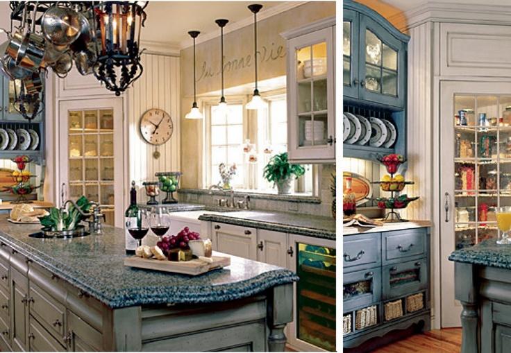 Provence style kitchen kitchen ideas pinterest style for Provence kitchen design