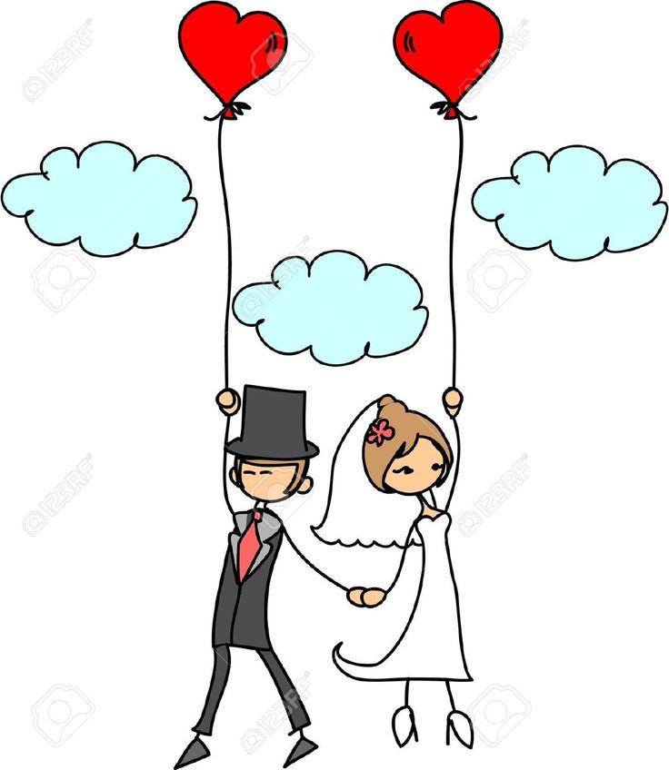 Cartoon Wedding Picture Royalty Free Cliparts, Vectors, And Stock Illustration. Image 11499195.