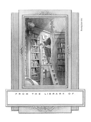 "One of our most popular designs, this adaptation of German Romanticist painter/poet Carl Spitzweg's famous satirical painting ""The Bookworm"" was originally published by the Etchcraft Company. It was introduced by the Antioch Bookplate Company in the 1950s. It is also available without personalization in the Non-Personalized category."