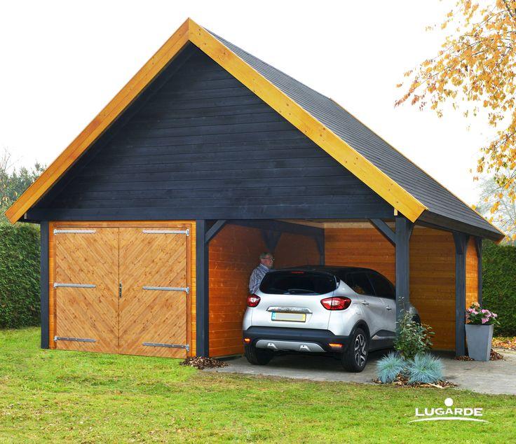 best 25 garage mit carport ideas on pinterest carport. Black Bedroom Furniture Sets. Home Design Ideas