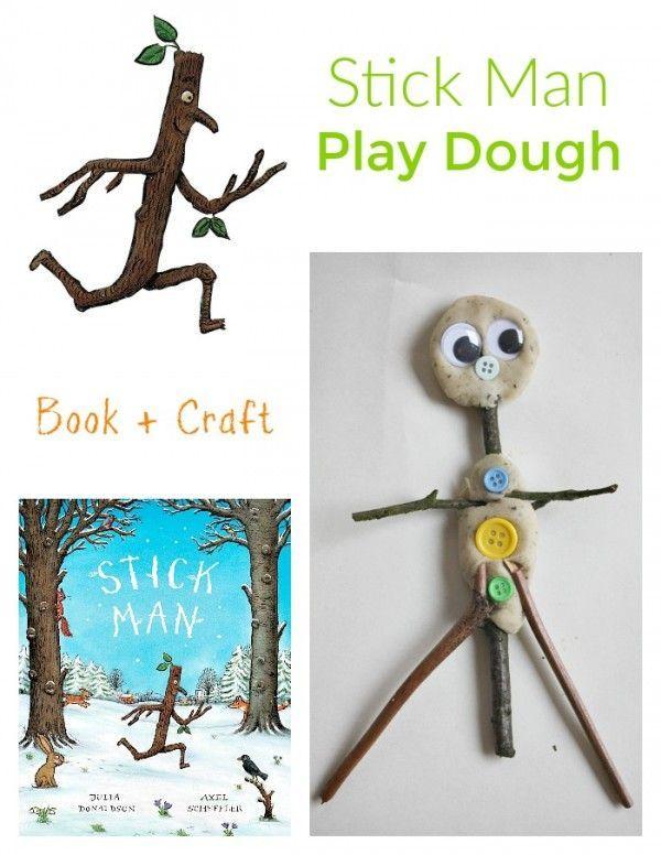 Stick Man Play Dough