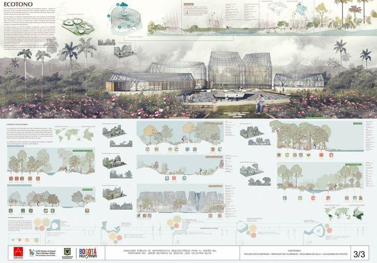 Primer Lugar en concurso público para el diseño del nuevo Tropicario del Jardín Botánico / Bogotá, Colombia Primer Lugar en concurso público para el diseño del nuevo Tropicario del Jardín Botánico / Bogotá, Colombia – Plataforma Arquitectura