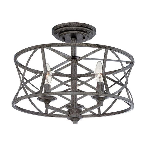 Best Photo Gallery For Website Shop Millennium Lighting Lakewood Semi Flush Ceiling Light at Lowe us Canada Find our selection of semi flush ceiling lights at the lowest price