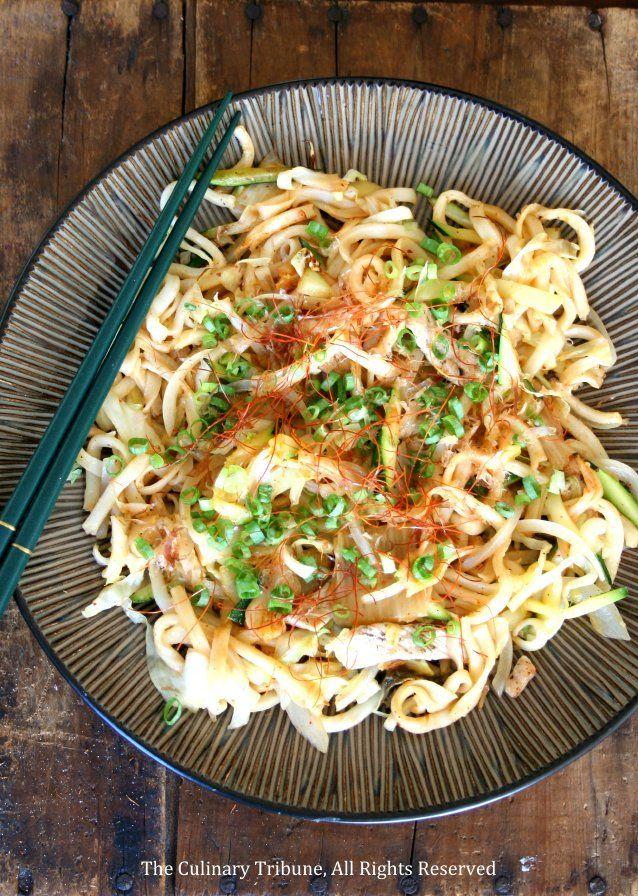 Kimchi Pork Yaki Udon