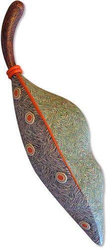 Donna Kato leaf - polymer clay