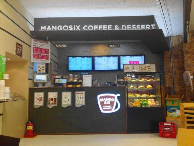 Mango Six Coffee Korea - Counter 1
