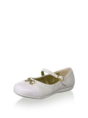 69% OFF Pampili Kid's Mary Jane (White)