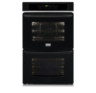 """View the Frigidaire FGET3065P 30"""" Electric Double Wall Oven with Quick Preheat, Effortless Convection, and Power Broil at Build.com. No smudge stainless steel & meat thermometer"""