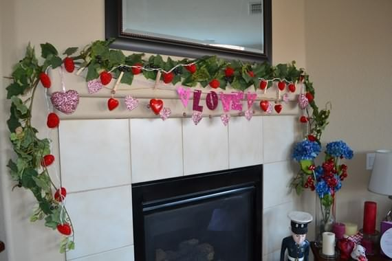 Gorgeous Valentine S Day Fireplace Decor Ideas Fireplace Decor Fireplace Mantel Decor Ornament Decor
