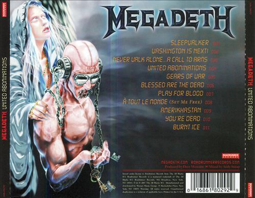 United Abominations - Megadeth | Songs, Reviews, Credits | AllMusic