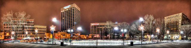 Worcester City Hall and Common, Downtown Worcester, Massachusetts - HDR by James Wellman Photography, via Flickr