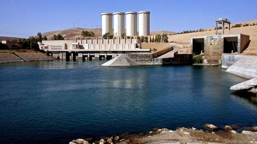 Water Wars: the Islamic State and the Mosul Dam | The Mosul Dam in Iraq has been at the center of the recent US intervention against the Islamic State. Credit: Khalid Mohammed / AP news | Archinect