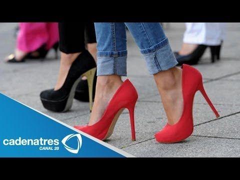 ¿Cómo caminar con tacones altos? / Tips para saber caminar en tacones correctamente - YouTube