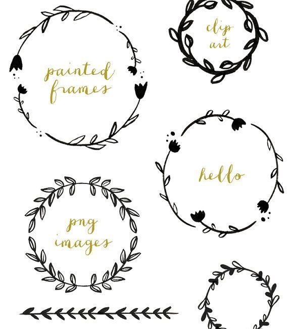 wreath leaf clipart 1 writing ways pinterest. Black Bedroom Furniture Sets. Home Design Ideas